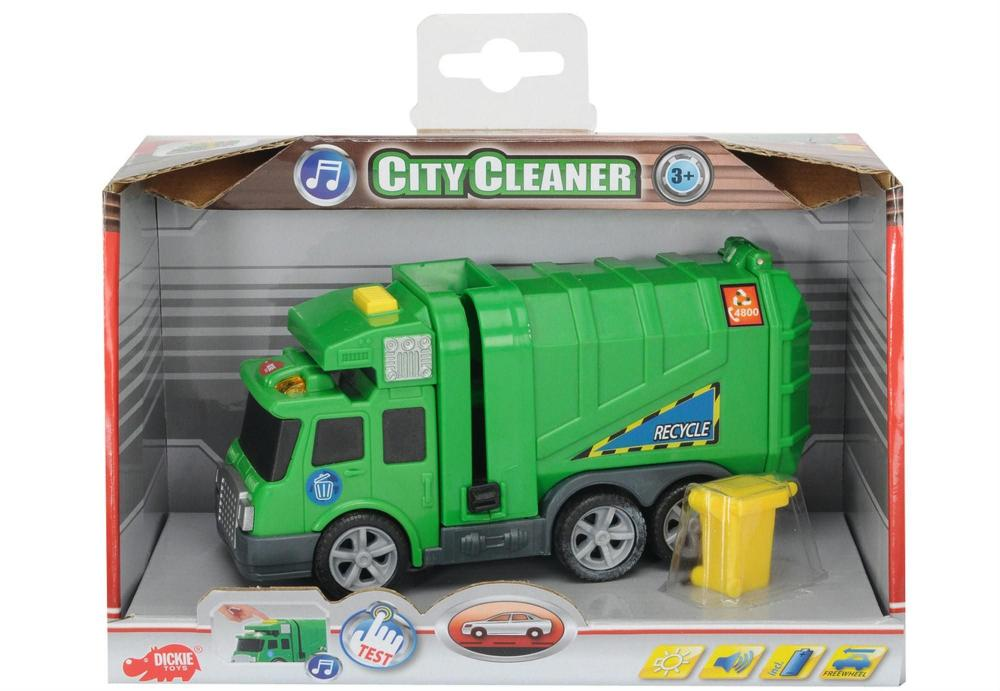 Masina CityCleaner cu sunet si functii,15 cm
