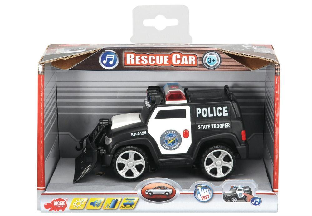 Masina rescue car 15 cm
