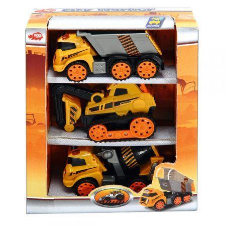 Set masini constructii city worker