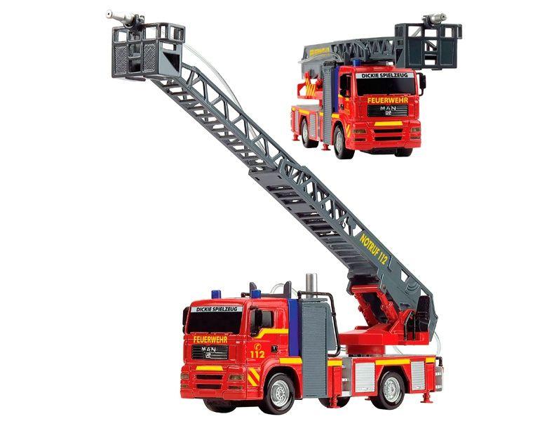 Masina pompieri cu baterii, 31 cm
