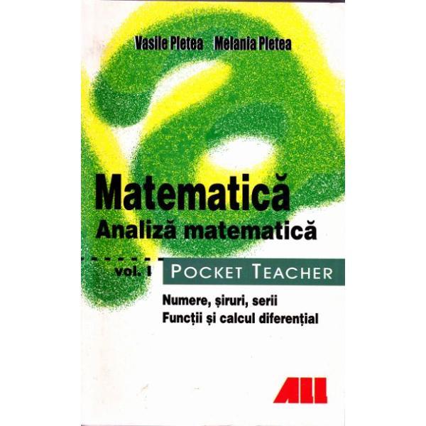 ANALIZA MATEMATICA POCKET TEACHER