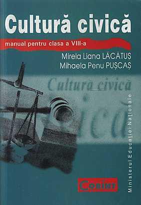 MANUAL CULTURA CIVICA CLS VIII