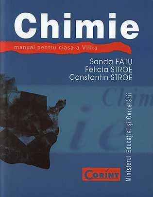 MANUAL CHIMIE CLS VIII