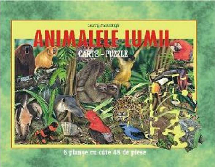 ANIMALELE LUMII-PUZZLE -REEDIT