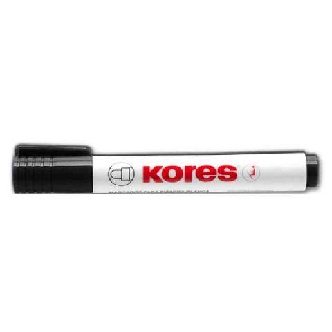 Marker tabla Kores,vf.rotund,negru