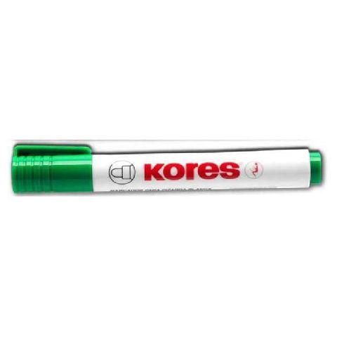 Marker tabla Kores,vf.rotund,verde