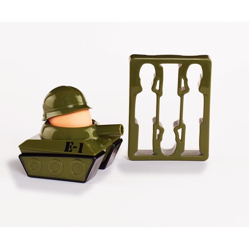 Set mic dejun, tanc si soldati