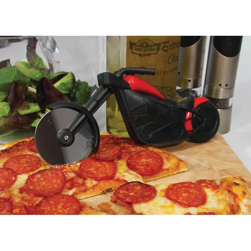 Cutit pentru pizza forma motocicleta
