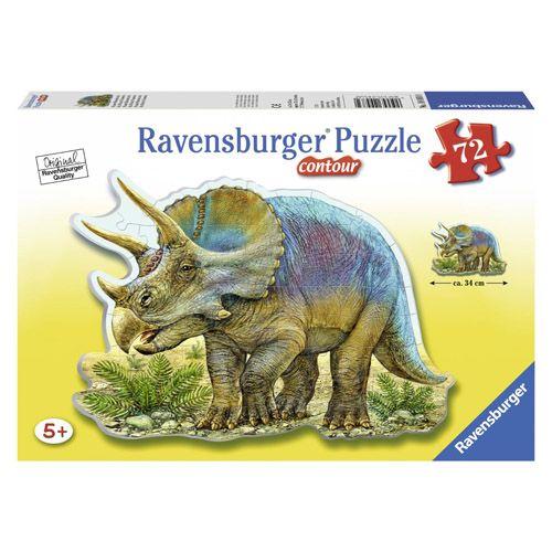 Puzzle triceratops, 72 pcs