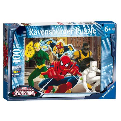 Puzzle spiderman, 100 pcs