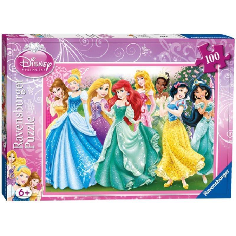 Puzzle printesele disney, 100 pcs