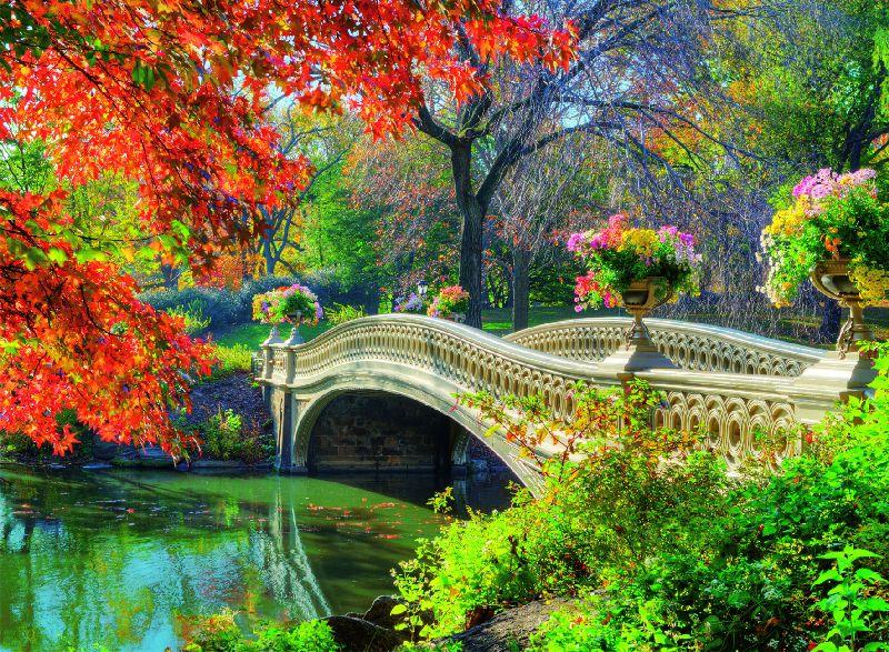 Puzzle podul romanticilor, 500 pcs