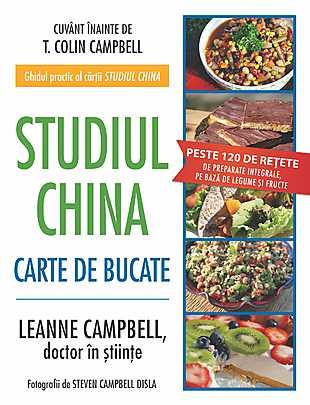STUDIUL CHINA.CARTE DE BUCATE