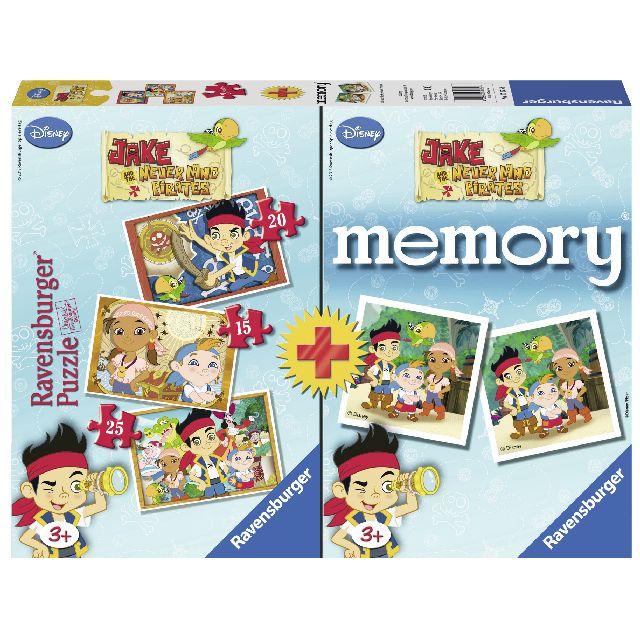 Puzzle memory aventurile lui jake,cutie 15/20/25 pcs