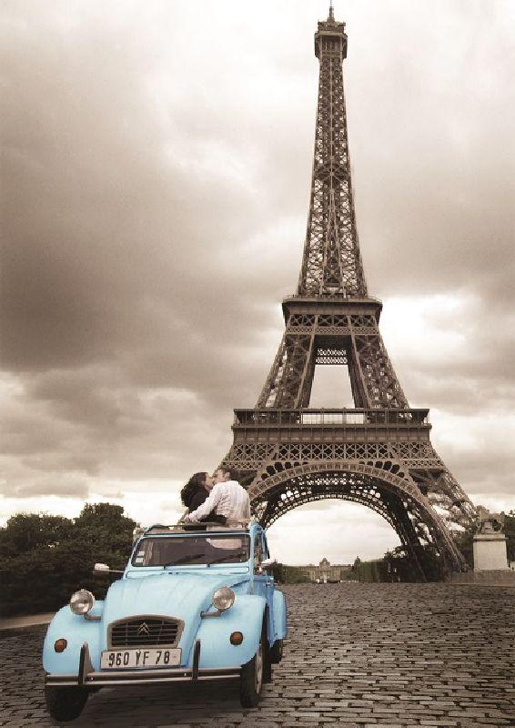 Puzzle romantismul parisului, 1000 pcs