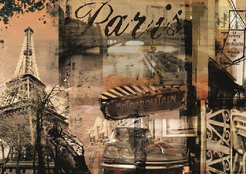 Puzzle amintiri din Paris, 1000 pcs