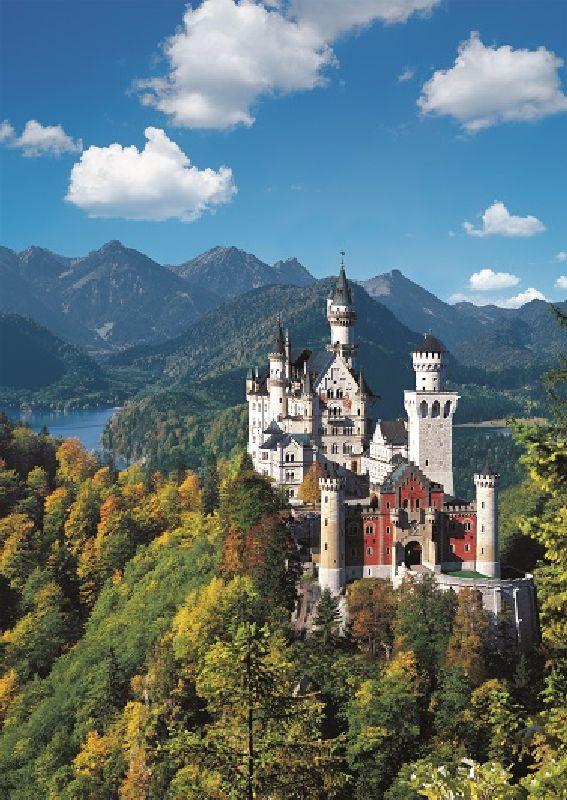 Puzzle Castelul Neuschwanstein, 1000 pcs