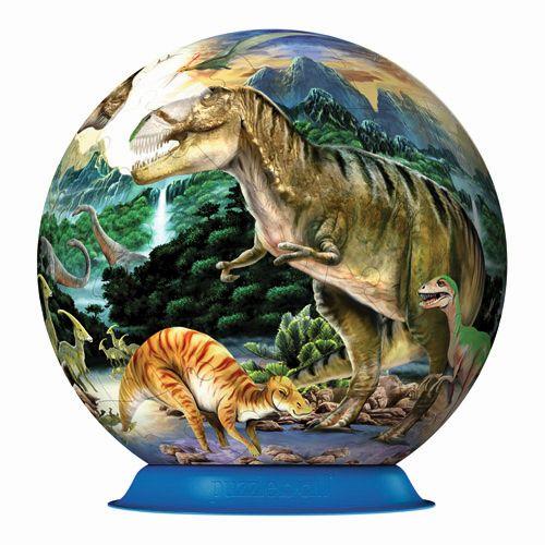 Puzzle 3D dinozauri, 72 pcs