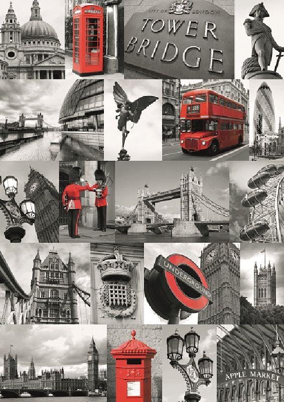 Puzzle Londra, 1000 pcs