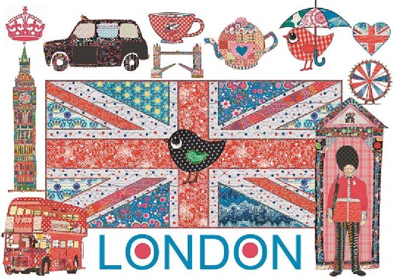 Puzzle Londra colorata, 1000 pcs