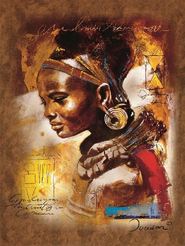 Puzzle frumusetea africana,...