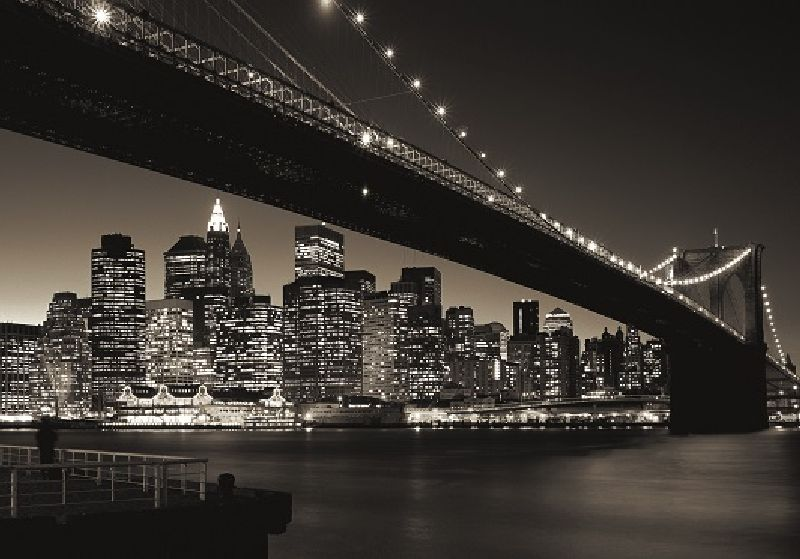 Puzzle Podul Manhattan & Brooklyn, 1000 pcs