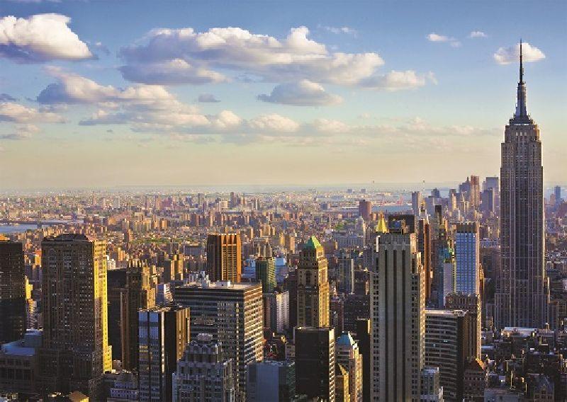 Puzzle Manhattan dimineata, 1000 pcs