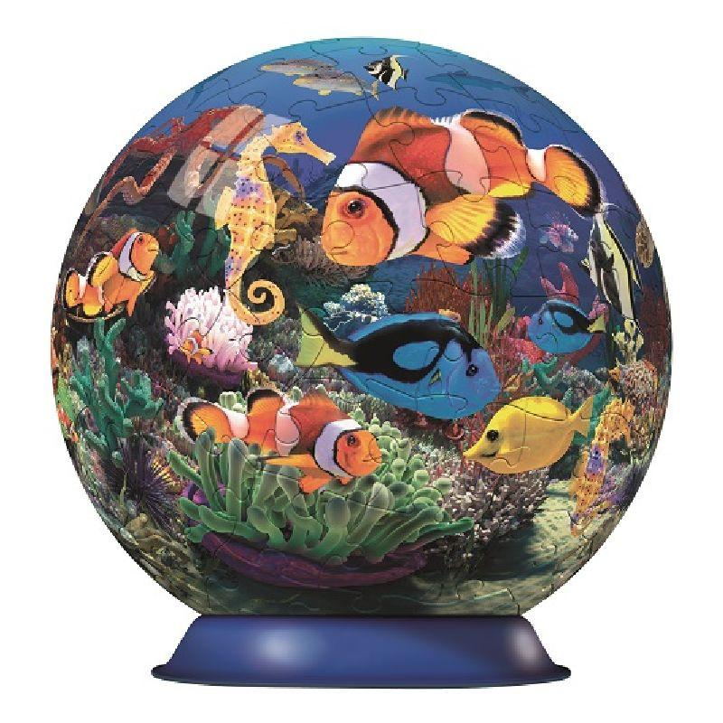 Puzzle 3D oceanul culorilor, 108 pcs