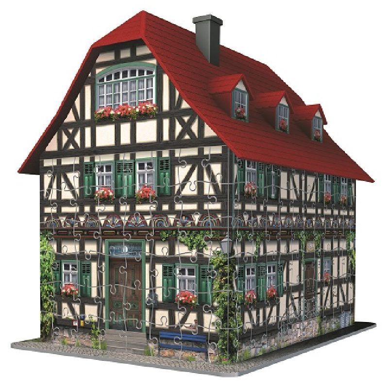 Puzzle 3D casa medievala, 216 pcs
