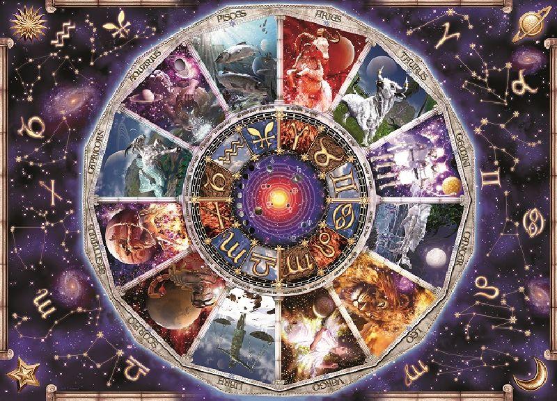 Puzzle astrologie, 9000 pcs