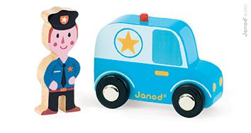 Set povestea mea Orasul, masina de politie
