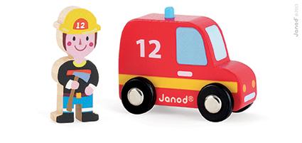 Set povestea mea Orasul masina de pompieri