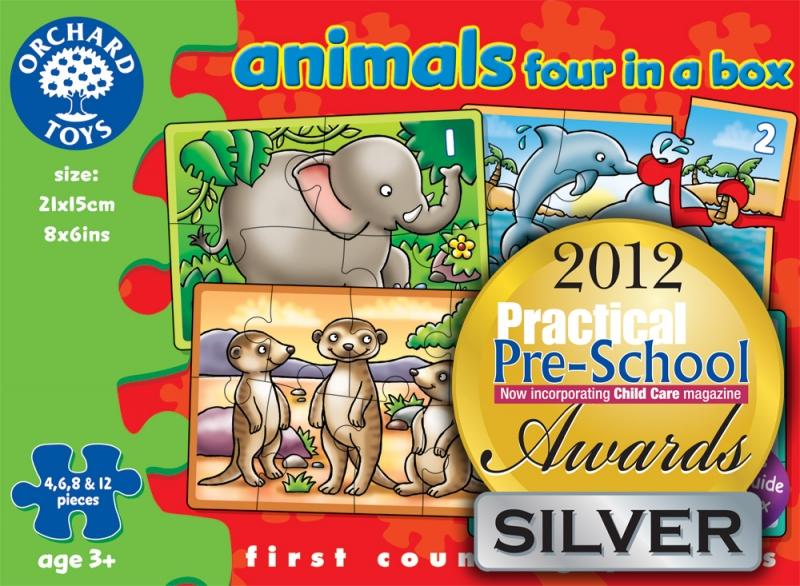 Set 4 puzzle Lumea animalelor