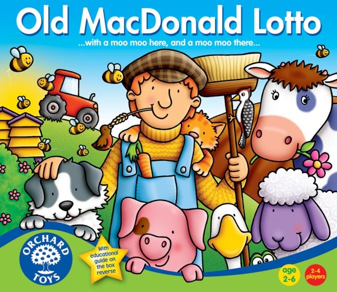 Joc loto - Old MacDonald