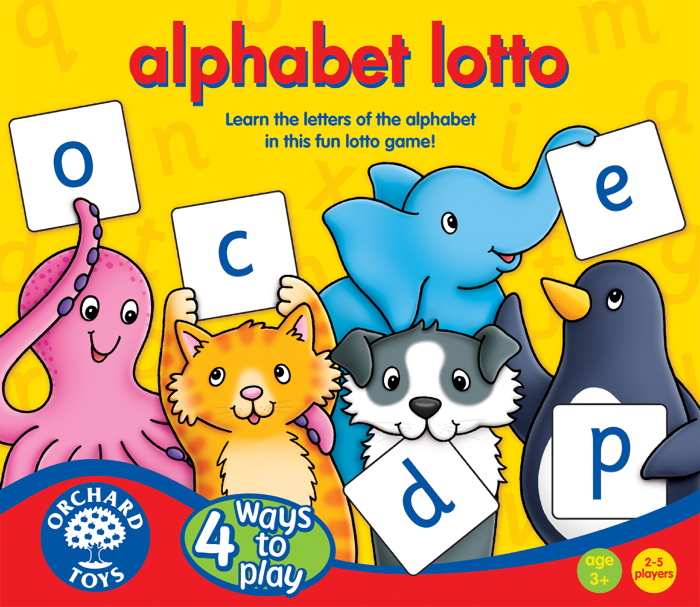 Joc loto - Alfabetul