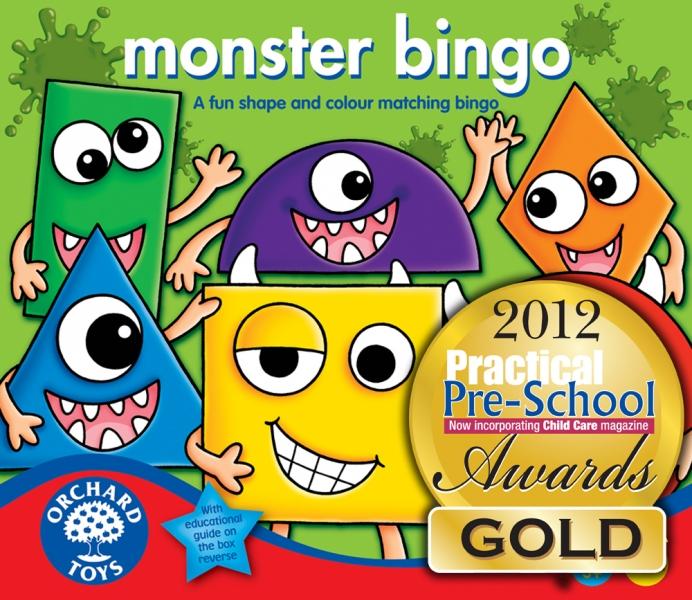 Joc bingo - Monstruletii simpatici