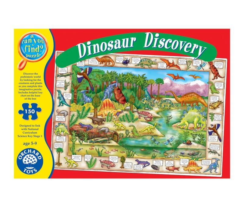 Puzzleactivitati Lumea dinozaurilor 150 pcs