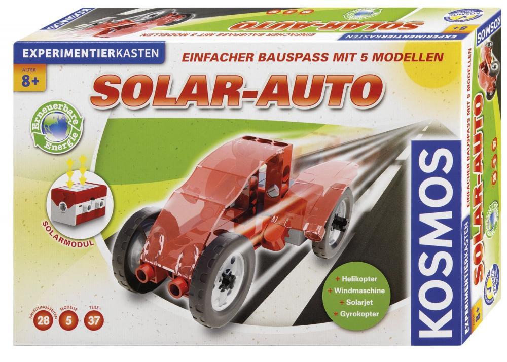 Experimente pentru acasa, Masina solara