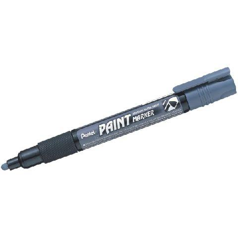 Marker perm.Pentel,cu vopsea,4mm,gri