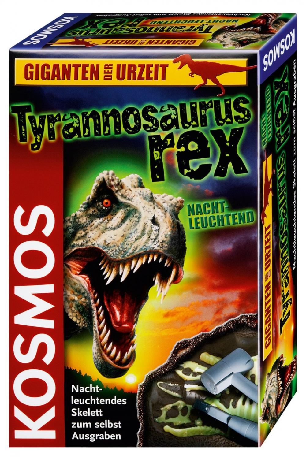 Set sapa si descopera,T-rex fosforescent