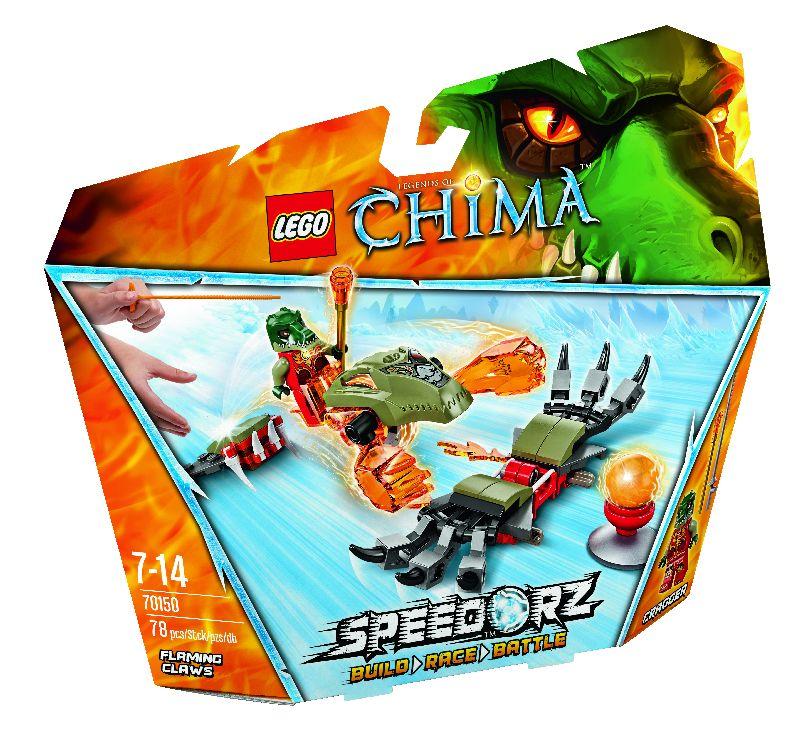 Lego Chima Crocodilul de Foc