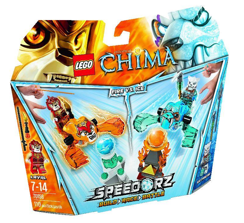 Lego Chima Foc vs. Gheata 2 in 1