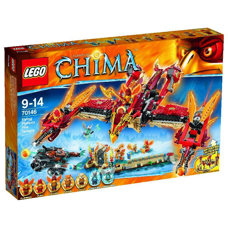 Lego Chima Templul de foc al