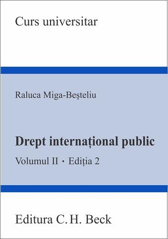 DREPT INTERNATIONAL PUBLIC VOL 2 EDITIA 2