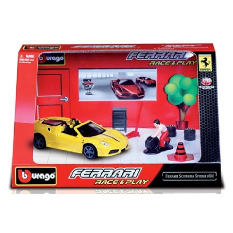 Masina 1:32 race&play, Bburago