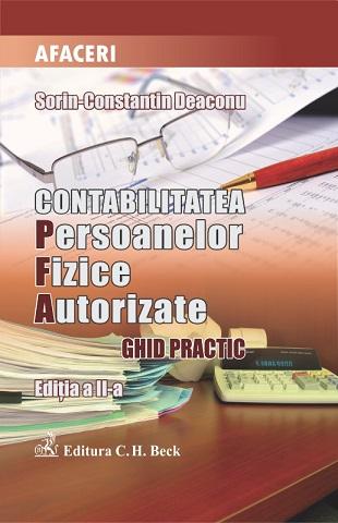 CONTABILITATEA PERSOANELOR FIZICE AUTORIZATE EDITIA 2