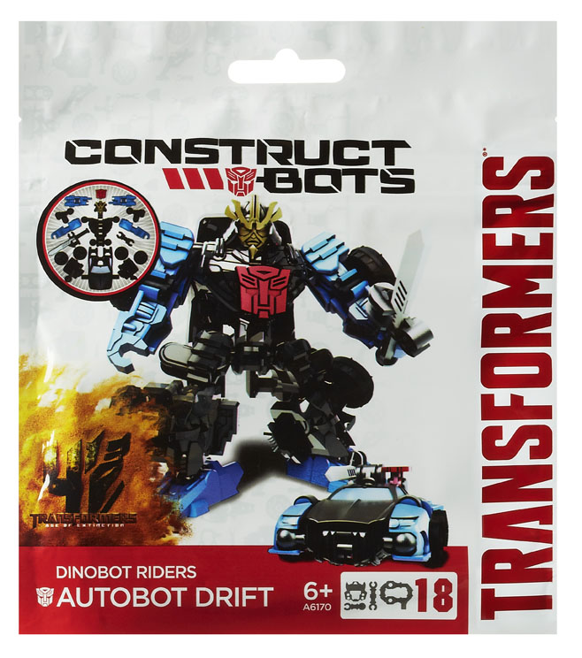 Robot/vehicul Construct Bots Scout Tra 4