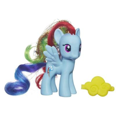 Ponei Rainbow Dash MLP lb romana