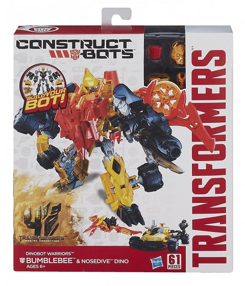 Robot/vehicul Construct Bots Warriors Tra 4