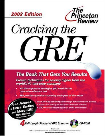 CRACKING THE GRE WITH S AMPLE TESTS - CD 2002